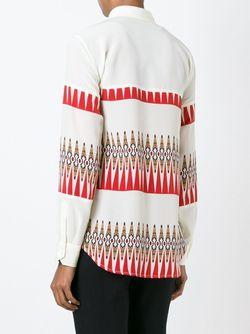 Рубашка С Принтом Etro                                                                                                              Nude & Neutrals цвет