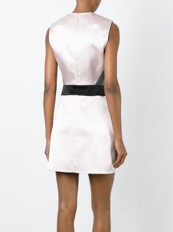 Короткое Платье С Панельным Дизайном Mcq Alexander Mcqueen                                                                                                              серый цвет