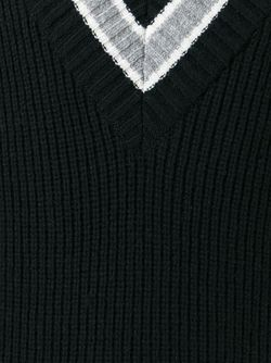 Свитер С V-Образным Вырезом General Idea                                                                                                              черный цвет