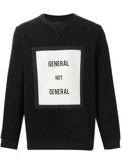 Толстовка General Not General General Idea                                                                                                              чёрный цвет
