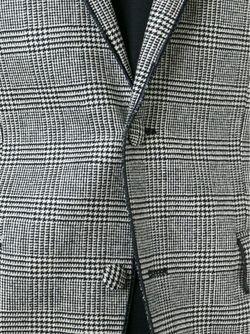 Твидовый Блейзер Maison Lvchino                                                                                                              серый цвет
