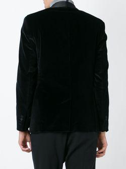 Бархатный Блейзер Maison Lvchino                                                                                                              черный цвет