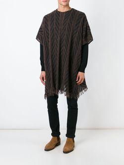 Трикотажный Свитер-Накидка Nuur                                                                                                              коричневый цвет