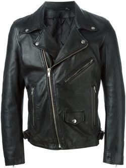 Biker Jacket Blk Dnm                                                                                                              чёрный цвет