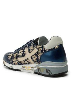 Panelled Low-Top Sneakers Premiata                                                                                                              синий цвет