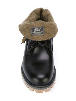 Ботинки На Шнуровке Timberland                                                                                                              чёрный цвет