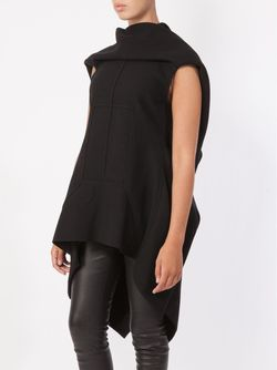 High Low Knit Top Rick Owens                                                                                                              чёрный цвет