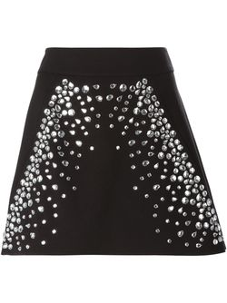 Embellished Mini Skirt Michael Michael Kors                                                                                                              черный цвет
