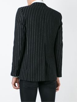 Pinstripe Blazer Saint Laurent                                                                                                              чёрный цвет