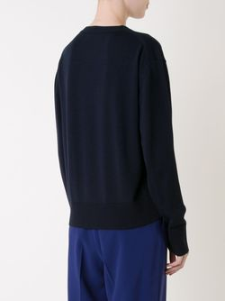 Crew Neck Sweater LE CIEL BLEU                                                                                                              синий цвет