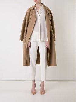 Cropped Trousers LE CIEL BLEU                                                                                                              белый цвет