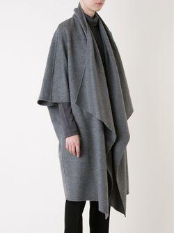 Пальто С Воротником-Шалькой LE CIEL BLEU                                                                                                              серый цвет