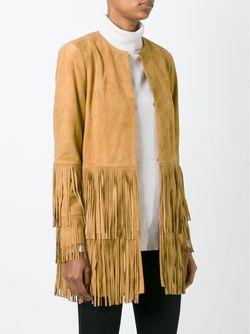 Куртка С Бахромой DESA                                                                                                              Nude & Neutrals цвет