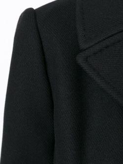 Короткое Двубортное Пальто Dolce & Gabbana                                                                                                              чёрный цвет