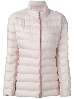 Дутая Куртка На Молнии Moncler Gamme Rouge                                                                                                              розовый цвет