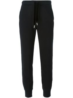 Rear Contrast Trim Track Pants T By Alexander Wang                                                                                                              чёрный цвет