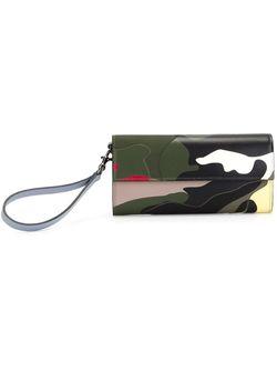 Camouflage Wallet Valentino Garavani                                                                                                              зелёный цвет