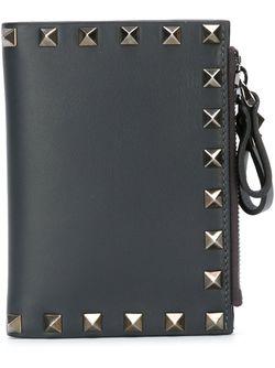 Rockstud Wallet Valentino Garavani                                                                                                              чёрный цвет
