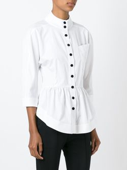 Рубашка С Баской J.W. Anderson                                                                                                              белый цвет