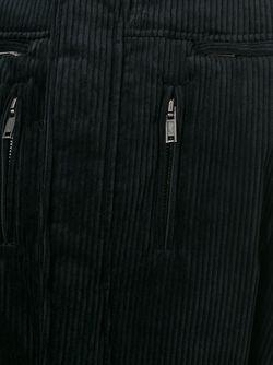 Вельветовая Куртка-Бомбер Haider Ackermann                                                                                                              черный цвет