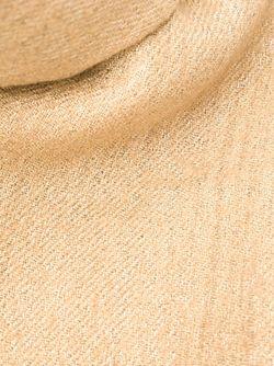 Шарф С Бахромой Brunello Cucinelli                                                                                                              Nude & Neutrals цвет