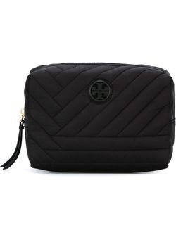 Quilted Make-Up Bag Tory Burch                                                                                                              чёрный цвет