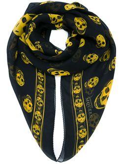 Шарф Skull Alexander McQueen                                                                                                              чёрный цвет
