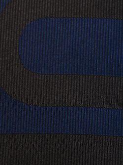 Галстук С Надписью Valour Alexander McQueen                                                                                                              синий цвет