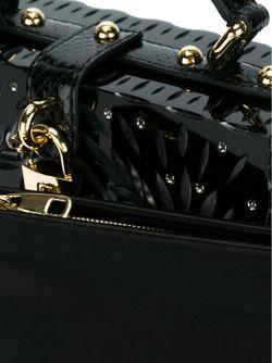 Декорированная Сумка-Тоут Dolce & Gabbana                                                                                                              чёрный цвет