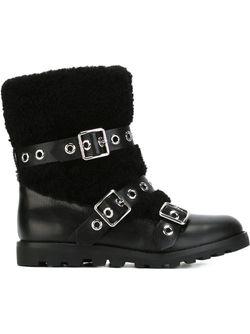 Ботинки С Пряжками Marc by Marc Jacobs                                                                                                              черный цвет