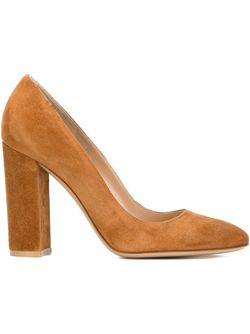 Туфли Lorraine Gianvito Rossi                                                                                                              коричневый цвет