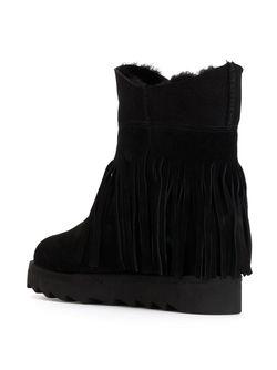 Fringed Boots Ash                                                                                                              черный цвет