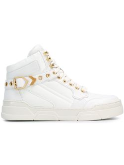 Eyelet Hi-Top Sneakers Ash                                                                                                              белый цвет