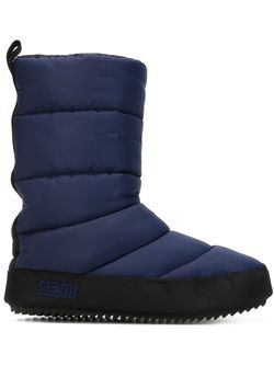 Дутые Лыжные Ботинки Marc by Marc Jacobs                                                                                                              синий цвет