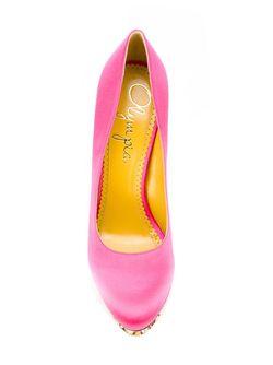 Туфли Objects Dart Charlotte Olympia                                                                                                              розовый цвет