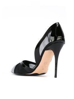 Туфли С Сетчатыми Панелями Alexander McQueen                                                                                                              чёрный цвет