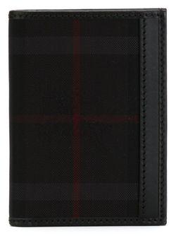 Бумажник Murphy В Клетку Horseferry Burberry                                                                                                              чёрный цвет