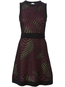 Woven Sleeveless Dress Missoni                                                                                                              чёрный цвет