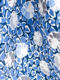 Нагрудный Платок С Цветочным Принтом Kiton                                                                                                              серый цвет