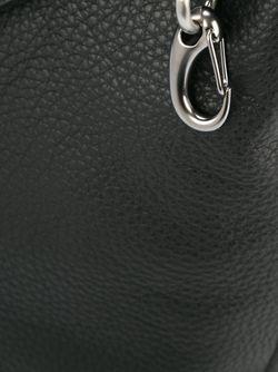 Сумка Трапециевидной Формы Emporio Armani                                                                                                              чёрный цвет