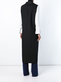 Long Sleeveless Coat MSGM                                                                                                              чёрный цвет