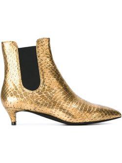 Ботинки С Отделкой Металлик Ash                                                                                                              серебристый цвет