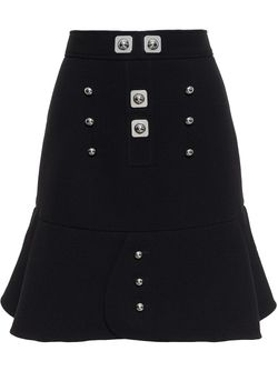 Silver Studded Mini Skirt Peter Pilotto                                                                                                              None цвет
