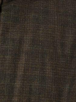 Двусторонний Жилет В Клетку Corneliani                                                                                                              коричневый цвет