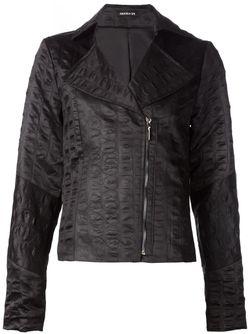 Байкерская Куртка Lydia AMANDA SHI                                                                                                              черный цвет