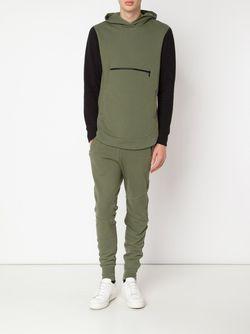 Толстовка С Капюшоном Rue JOHN ELLIOTT + CO.                                                                                                              зелёный цвет