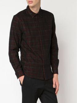 Рубашка В Клетку Levi'S®  Made & Crafted™                                                                                                              черный цвет