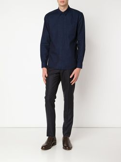 Рубашка С Нагрудным Карманом Levi'S®  Made & Crafted™                                                                                                              синий цвет