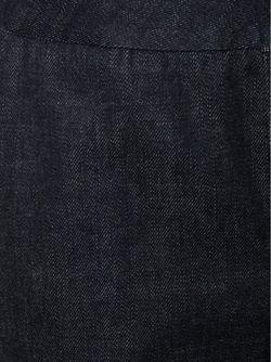 Расклешенные Джинсы С Завышенной Талией Co                                                                                                              синий цвет