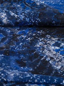 Шарф С Узором Пейсли Kiton                                                                                                              синий цвет
